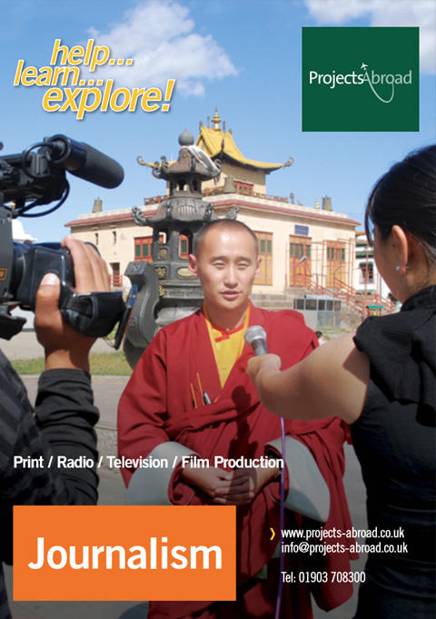 Projects Abroad Leaflet - Journalism