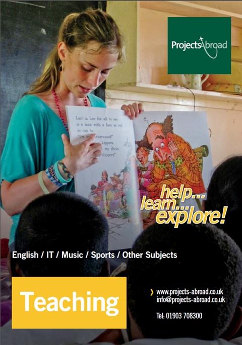 Projects Abroad Leaflet - Teaching