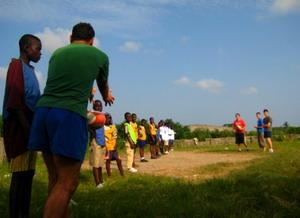 Our football project in Ghana