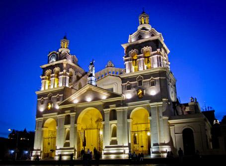 One of the many churches to visit in Argentina is the Cathedral of Córdoba