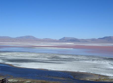 A beautiful landscape of Bolivia