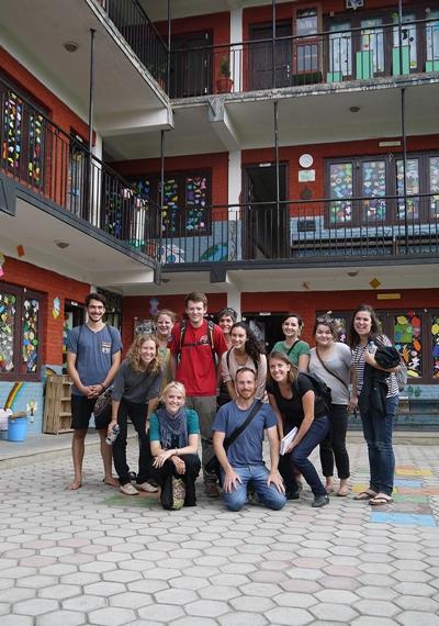 Volunteers in Nepal