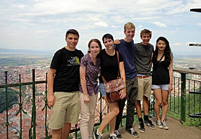 Volunteers in Eastern Europe